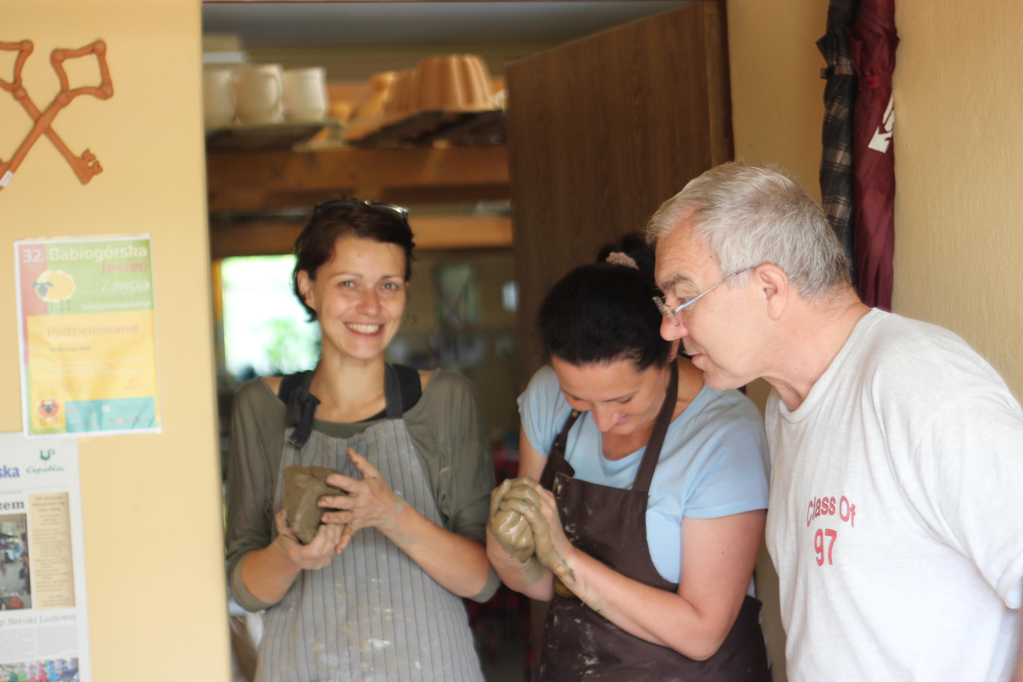 Dorota, Monika i mistrz Jerzy