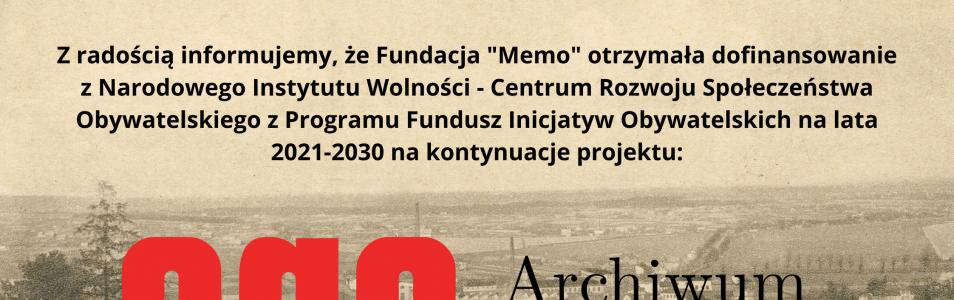 Archiwum Gminy Andrychów – kontynuacja