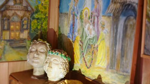 rzeźby M. Magiery