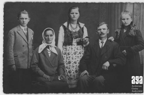 1933 r. Rodzina Walusiaków