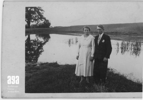 1935, Maria Walusiakówna i Józef Magiera; fot. J. Magiera